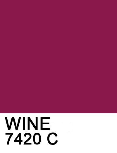 WINE: #8b184b 7420 C
