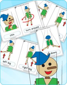 Learn parts of the body vocabulary with this active song that kids LOVE!