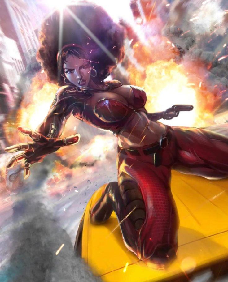 Misty Knight Video   Marvel comics wallpaper, Comics girl, Comics artist
