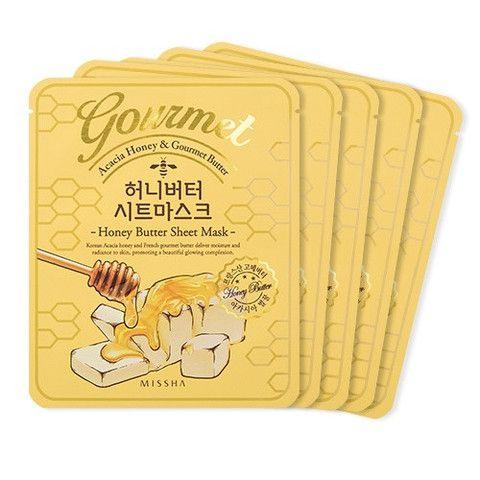 [Store] MISSHA Honey Butter Sheet Mask Pack