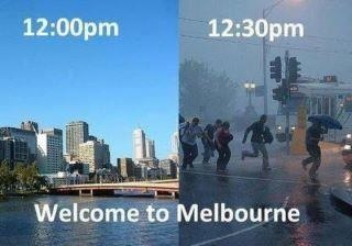 Melbourne Australia weather