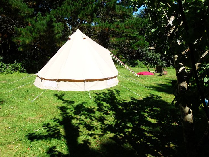 Gl&ing Cornwall. Bell tent hire Cornwall. Experience a night under canvas in the luxury & 24 best Igloo bell tents images on Pinterest | Bell tent Tent and ...