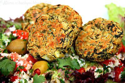 ♥ Máma v kuchyni ♥: Cizrnový falafel (od 1 roku)