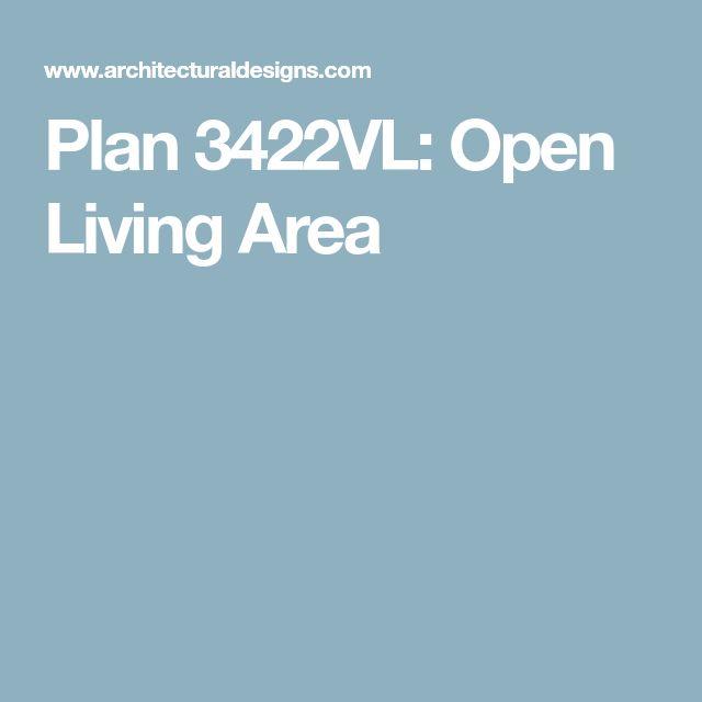 Plan 3422VL: Open Living Area