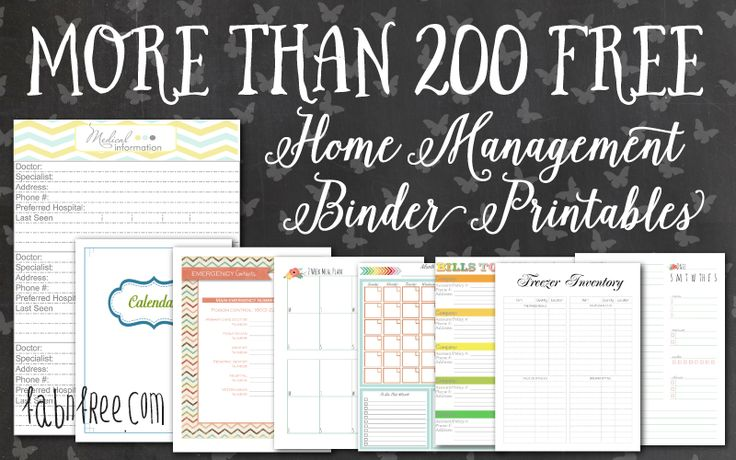 57 best home management binder images on Pinterest Cleaning