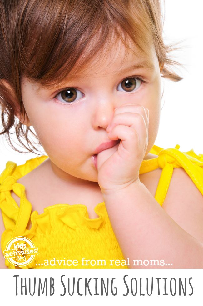 How Do I Get My Child To Stop Sucking His Thumb?  Great variety of advice from moms who have had this issue!