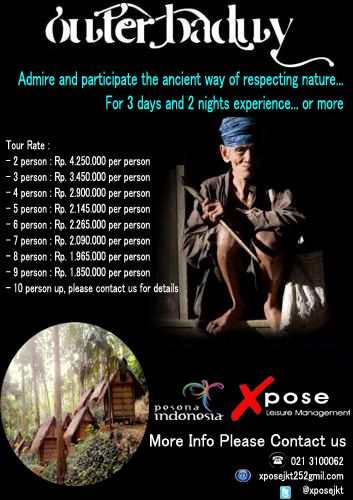 Getting to know the customs and culture Baduy tribe still untouched life medern. More Info please contact us 021.3100062, email : xposejkt25@gmail.com, Twiter ; @xposejkt