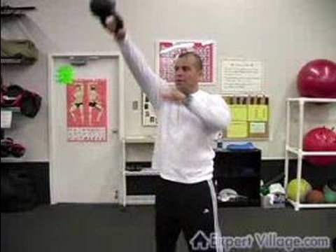 How to Exercise with a Russian Kettlebell : Kettlebell Training with Darcy Swing Exercises - http://www.thehowto.info/how-to-exercise-with-a-russian-kettlebell-kettlebell-training-with-darcy-swing-exercises/