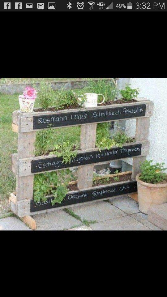 Herb pallets