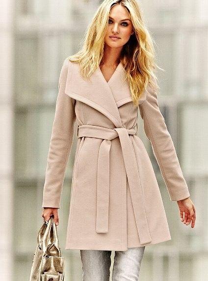 Belted Wrap Coat <3 Fashion Style