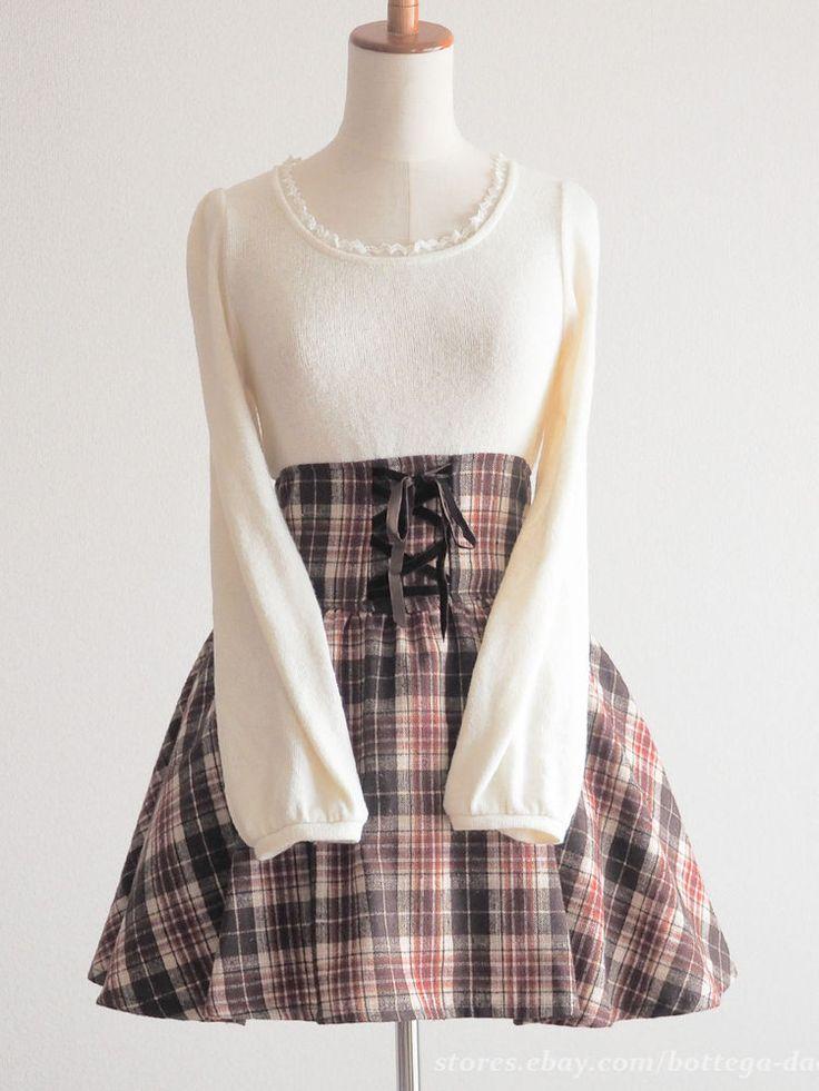 LIZ LISA Autumn Winter OP Dress Classic Lolita Hime gyaru Size0 Japan #LIZLISA #Peplum #Casual