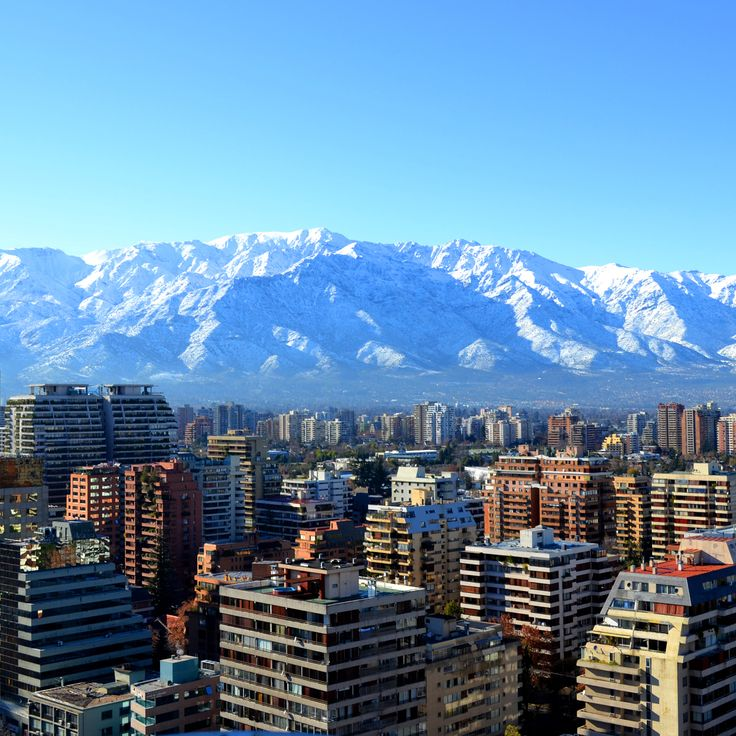 This is the capital of Chile; Santiago.