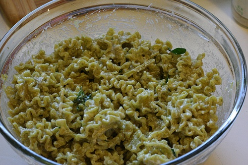 Lemony Almond Spinach Pesto Pasta With Tuna Recipes — Dishmaps
