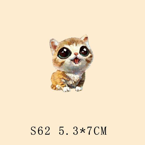 Детский мультфильм милый очаровательны кошки теплового смещения тепла узор свитер пальто зимней одежды раздел DIY печати