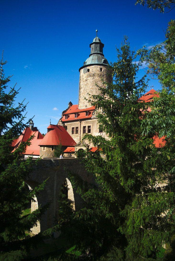 Czocha Castle (Poland) by Wodzionka81 on DeviantArt