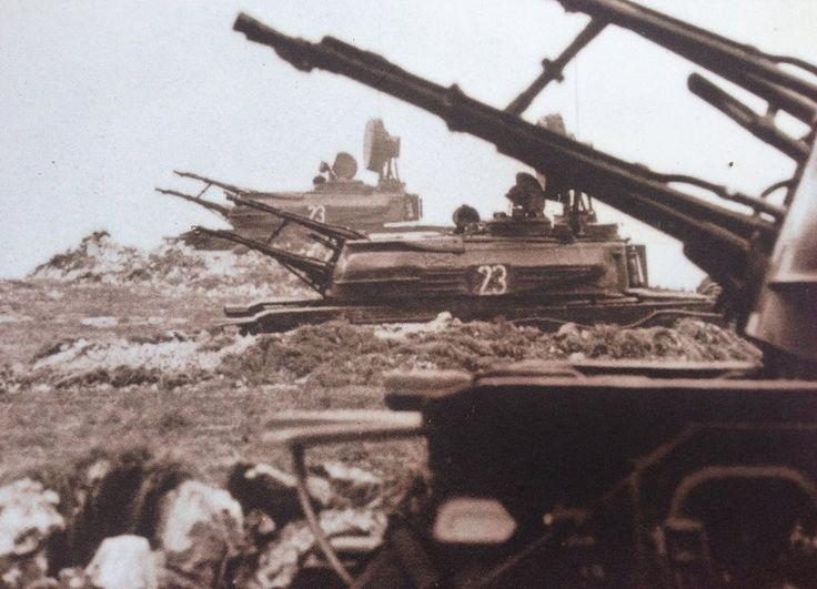ZSU-23-4 Shilkas of Hungarian People's Army.