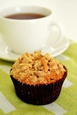 Ginger-Pear Teff Muffins