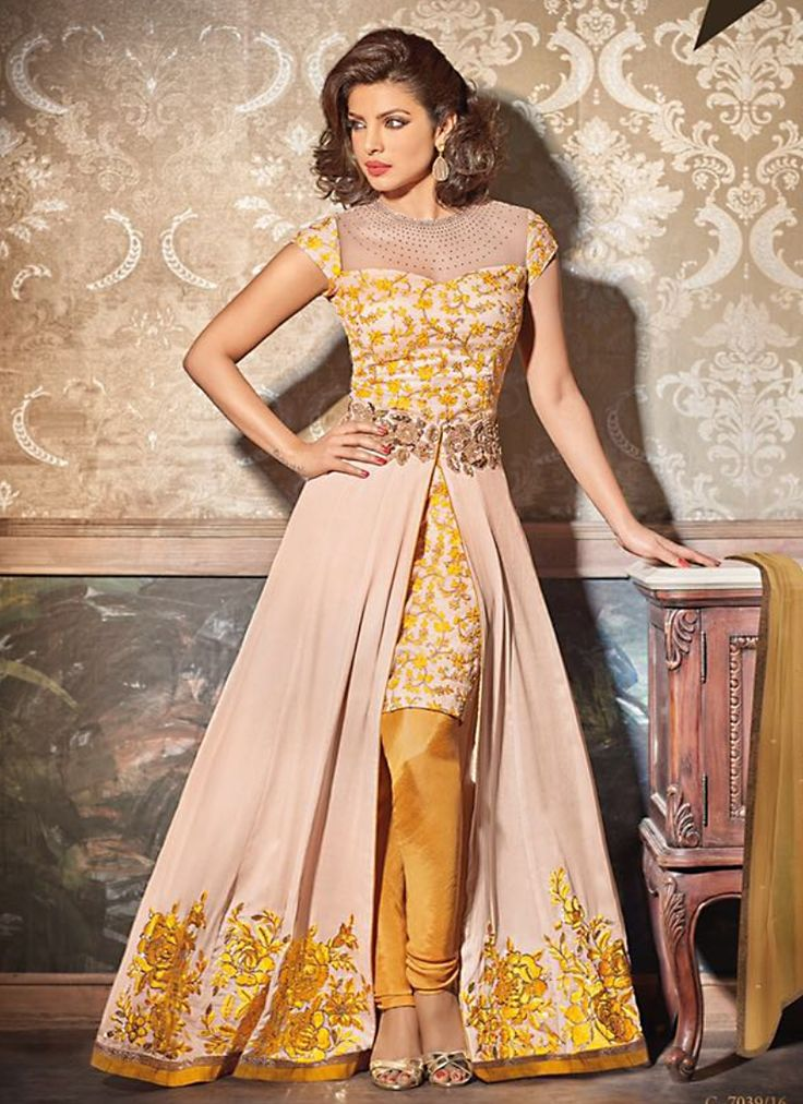 remarkable-peach-georgette-anarkali-suit.jpg 800×1,100 pixels