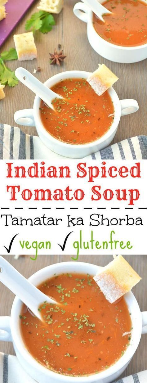 Warm up your winter evening with a bowl of freshly made Tamatar ka shorba – Spiced Indian Tomato soup. Flavorsome and so comforting!