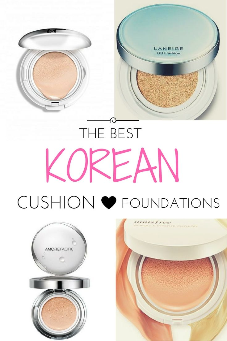 Best Korean Cushion Foundation   Cushion Compacts have been around the last few years and have been a huge hit especially in the Asian market. For those who don't know what this is let me explain! It's basically a foundation that lays in saturated sponge. With the applicator, you press the cushion allowing you to get the perfect amount of foundation.