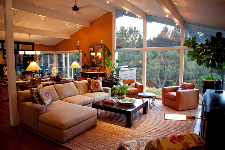 Woodside Project.  SMW Design.  Love the colors and open space!: Interior, Open Living Rooms, Comfortable Living Rooms, Dream House, Favorite Rooms, Design