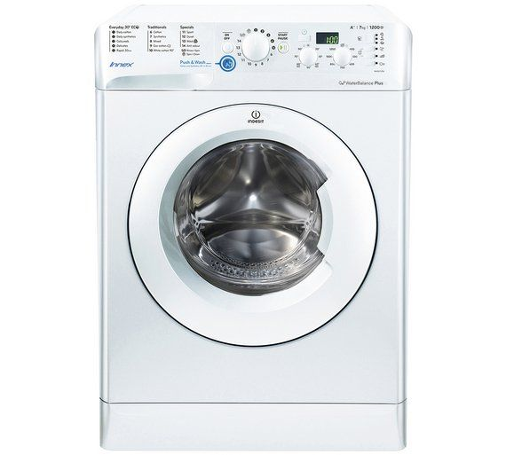 Buy Indesit BWD71252WUK.R 7KG 1200 Spin Washing Machine - White at Argos.co.uk, visit Argos.co.uk to shop online for Washing machines, Large kitchen appliances, Home and garden