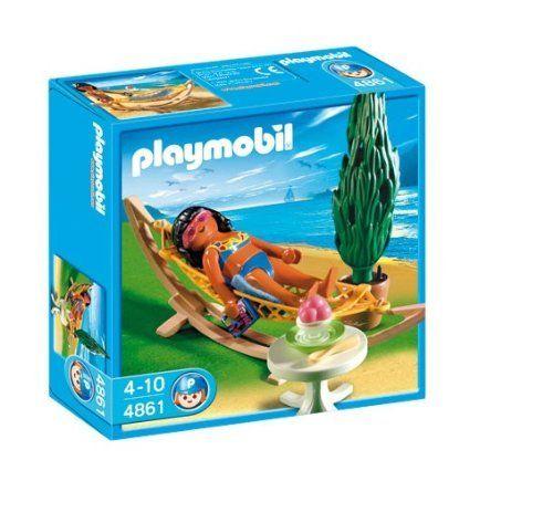 Playmobil 4861 woman with hammock by playmobil 5 9 - Piscina playmobil amazon ...