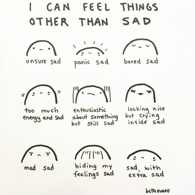 Sadness typologies.