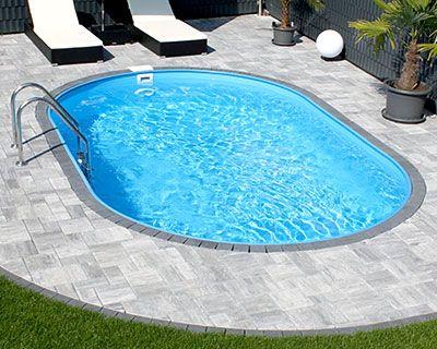 Entdecken Sie unsere große Pool-Vielfalt. Egal, ob Rund-, Oval-, Achtform- oder Rechteckbecken: bei uns finden Sie das Richtige. (Swimming)