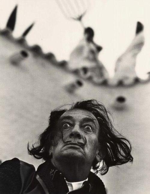 huariqueje:    Salvador Dalì  -  Philippe Halsman 1981 American-Russian 1906-1979