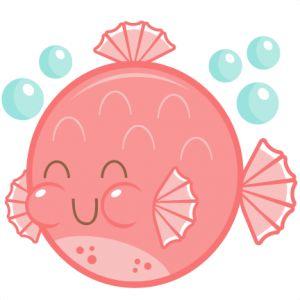Daily Freebie 6-17-14: Miss Kate Cuttables--Cute Puffer Fish SVG cutting file free svg cuts cute svg cut files for cricut cute cut files for scal scut free files