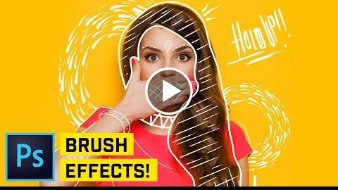 Draw On Photo Effect Photoshop CC Tutorial  http://videotutorials411.com/draw-on-photo-effect-photoshop-cc-tutorial/  #Photoshop #adobe #lightroom #graphicdesign #photography