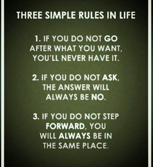 Three Simple Rules That Could Change Your Life