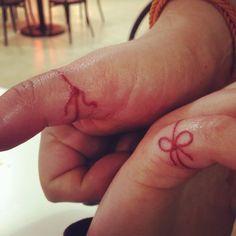 hilo rojo del destino tatuaje - Buscar con Google
