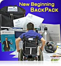 From the Life after Spinal Chord Injury Facebook - Did you know that National Spinal Cord Injury Association is distributing backpacks to people newly injured or diagnosed that are leaving hospitals and rehabilitation facilities?http://www.spinalcord.org/partners/backpack/