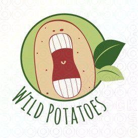 Wild Potato!  #logo #logo design