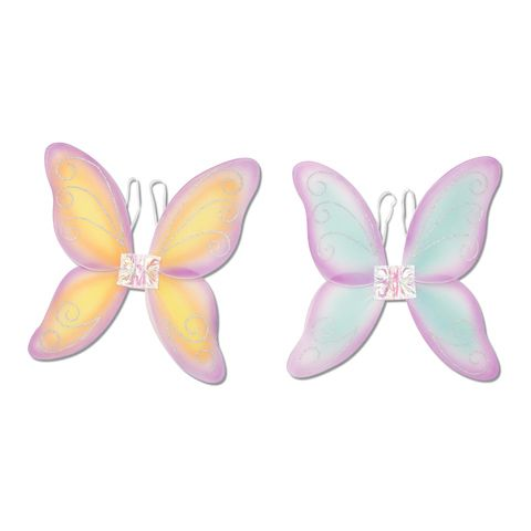 ConsumerCrafts Product Darice® Kids Dress-Up - Princess Fairy Wings - Asst Color only $1.97 each!!