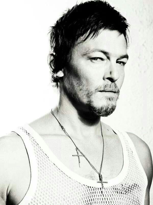 """Norman Reedus """"Daryll"""" from The Walking Dead. Sweet Lord he's HOT!"""