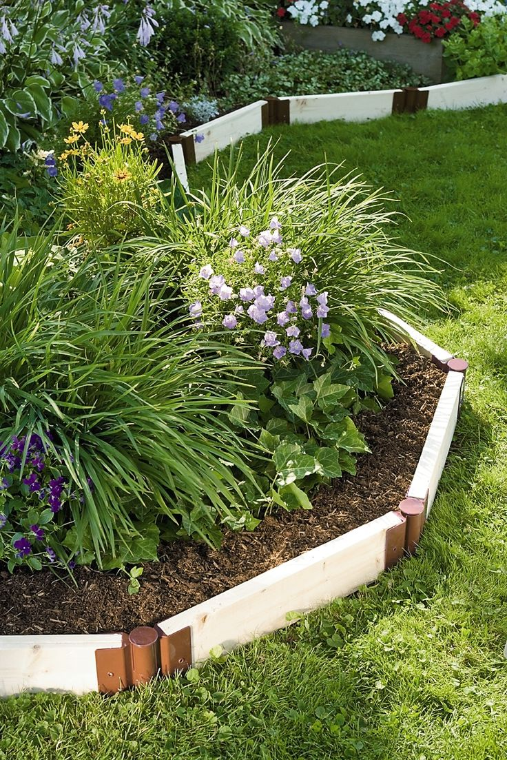 Raised beds as landscaping instead of shrubs, pinestraw, etc.