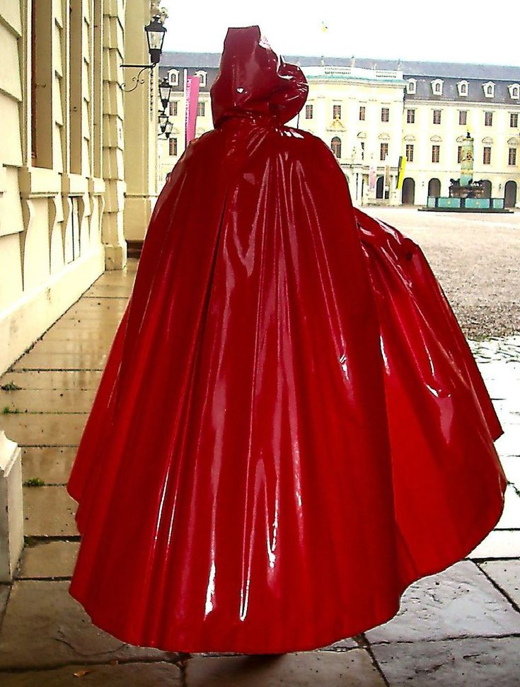 Rain Cape Regencape Raincoat Lack Shiny Vinyl Regenmantel Vintage Lackcape XXL   Kleidung & Accessoires, Herrenmode, Sonstige   eBay!