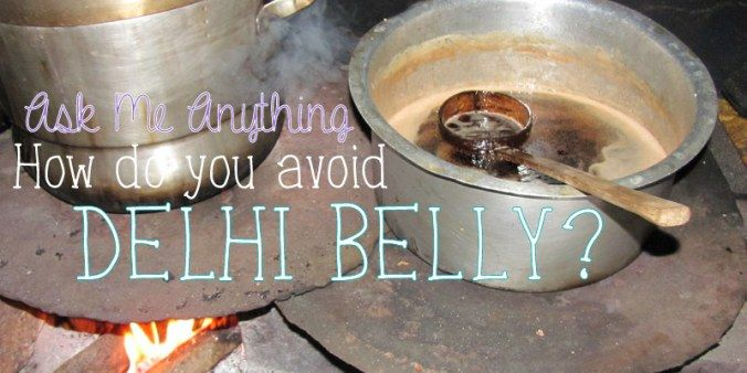 avoid delhi belly