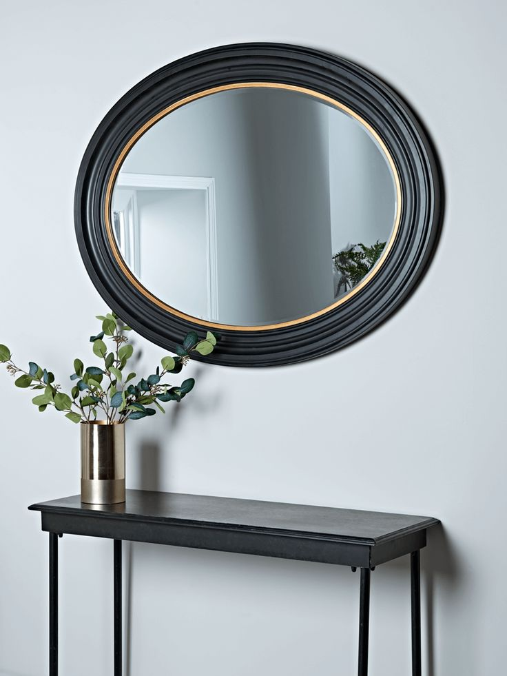 Alden Oval Mirror - Wall Mirrors - Mirrors