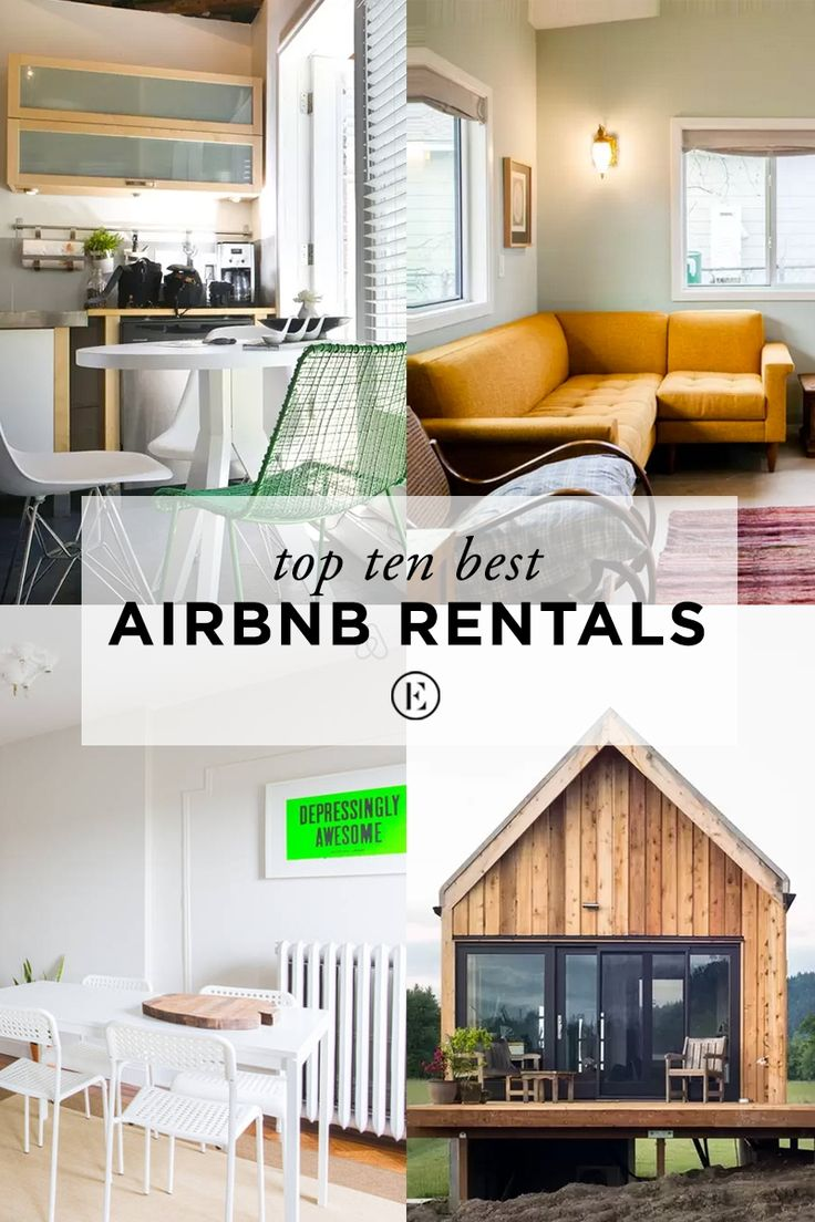 Top 10 Airbnb Rentals Under $200 in The United States #theeverygirl