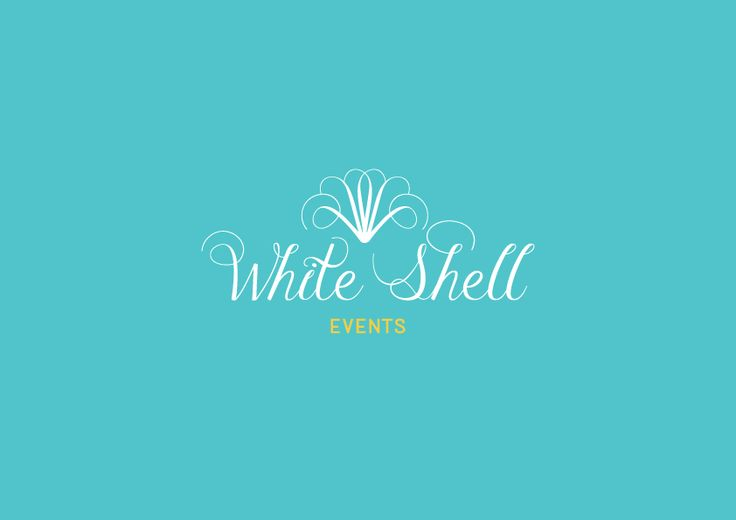 Logo design - White Shell events