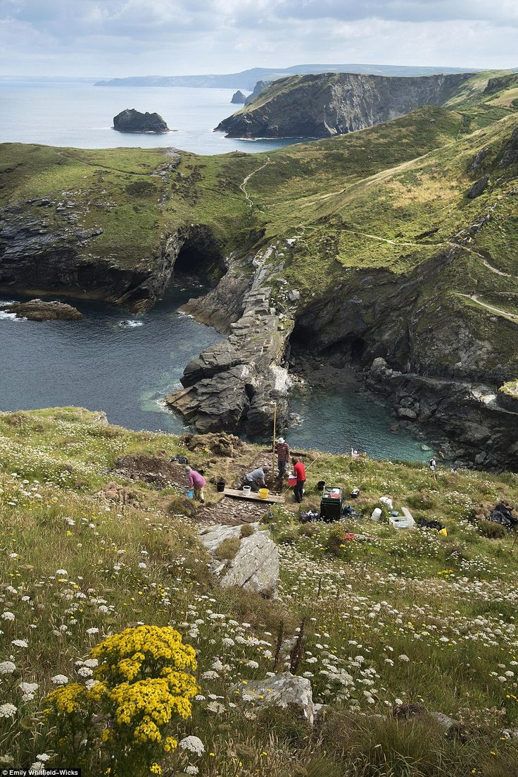 'This is the most significant archaeological project at Tintagel since the 1990s' said English Heritage's Properties Curator for the West, Win…