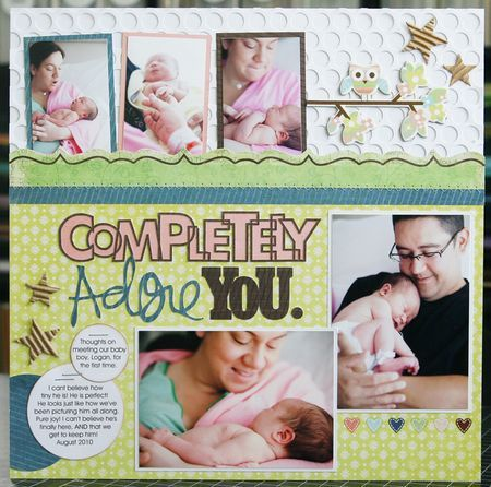 As seen in theScrapbooking Babies & Toddlersspecial issue, from Creating Keepsakesmagazine. Copyright Creative Crafts Group.