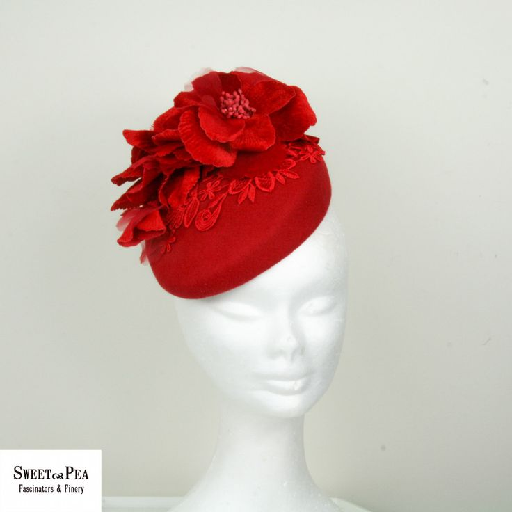 Sweet Pea Fascinators