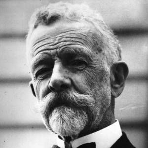 Henry Cabot Lodge - Republican Senator and historian from MA. He was a long-time friend and confidant of Theodore Roosevelt and had the role (but not the official title) of the first Senate Majority Leader. He battled with President Woodrow Wilson in 1919 over the Treaty of Versailles. Lodge demanded Congressional control of declarations of war; Wilson refused and blocked Lodge's move to ratify the treaty with reservations. As a result the United States never joined the League of Nations.