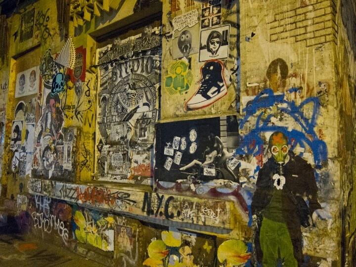 NYC street art Soho