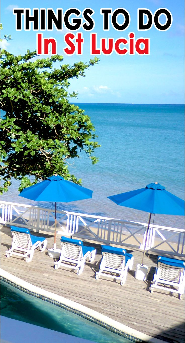 You have never been to the Caribbean so you are wondering what you can do beside take in the sunshine and the beautiful beaches in St Lucia??